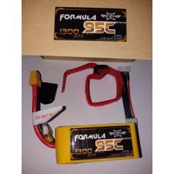 ACEHE 4S 14.8V 95-190C 1300mAh FORMULA SERIES