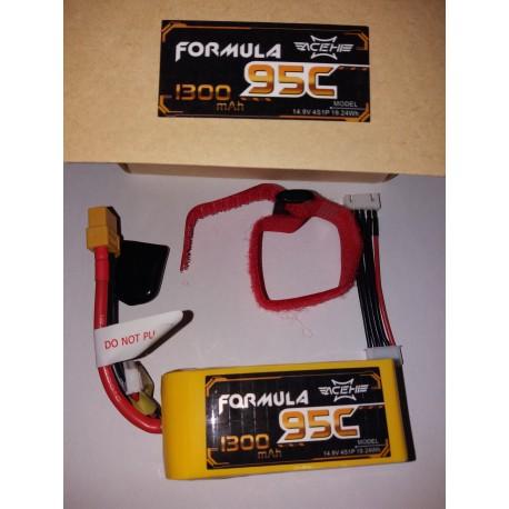 ACEHE 4S 14.8V 95-190C 1300MAH - FORMULA SERIES