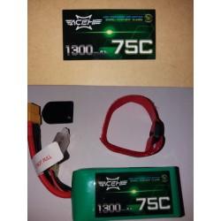 ACEHE 4S 14.8V 75-150C 1300MAH - SERIE DE CARRERAS