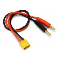 CABLE CONECTOR DE BALA XT60/BANANA 4MM