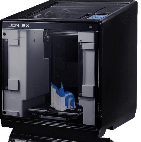 IMPRESORA 3D LION 2X-DOBLE EXTRUSOR